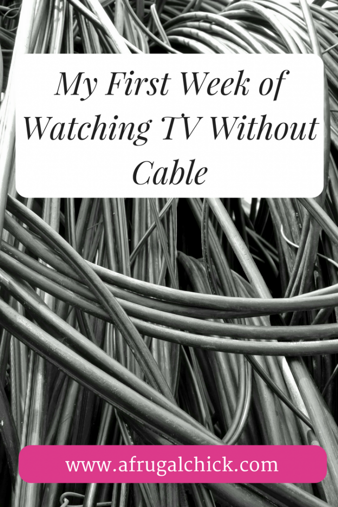 My First Week of Watching TV Without Cable