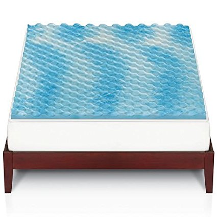 Kohl S Cardholders Any Size Gel Memory Foam Mattress Topper 3 Pillows Only 29 37 Shipped
