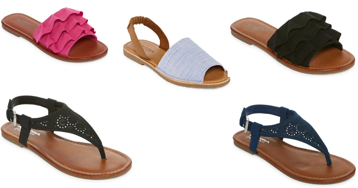 241f404ee27ba For a limited time JCPenney s is offering Buy 1 Get 2 FREE select sandals.  Prices start at  37
