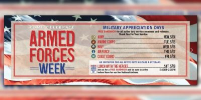 Mission BBQ: FREE Sandwich For Active Duty Militar...