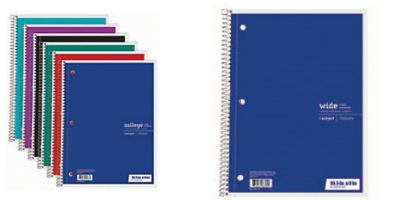 Office Depot/Max: $0.25 Spiral Notebooks! ($3 Valu...