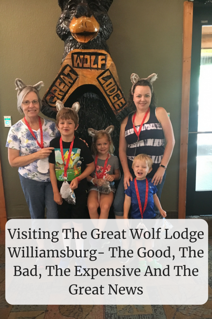 Visiting The Great Wolf Lodge Williamsburg- The Good, The Bad, The Expensive And The Great News- Everything you need to know to save money once you arrive.