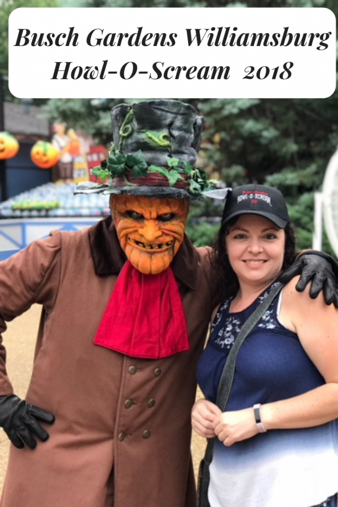 What's New at Busch Gardens Williamsburg Howl- O- Scream in 2018 (And The Thing ALL The Kids Will Want To Do)