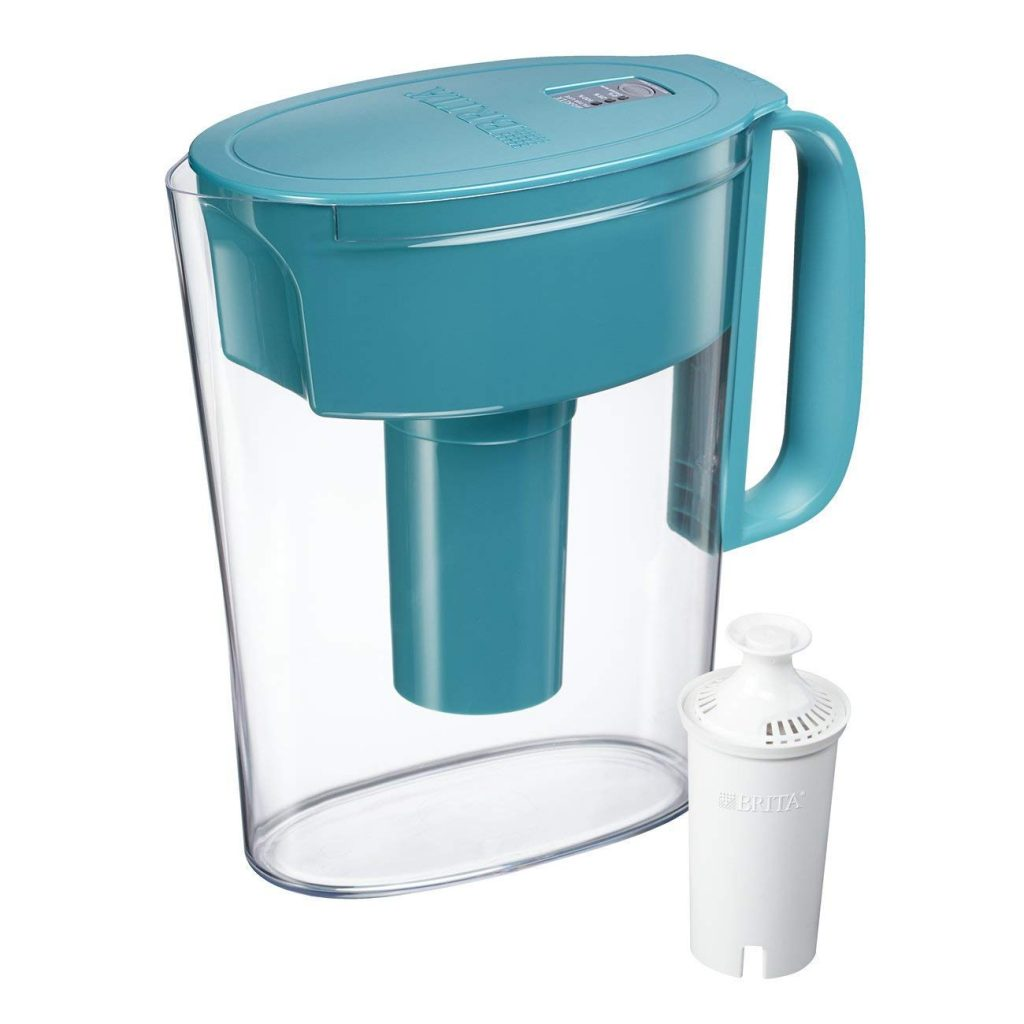 Amazon Lowest Price: Brita 5 Cup Water Filter Pitcher with 1 ...