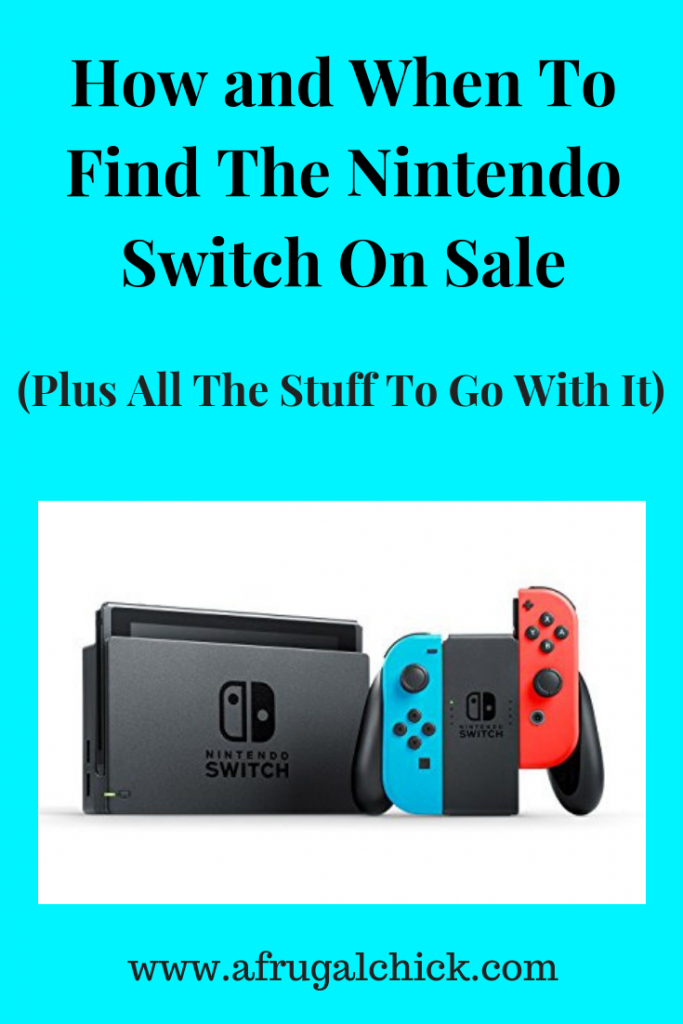 Nintendo Switch On Sale- How and When To Find Nintendo Switch on sale. Predictions for Black Friday prices 2018, lists of all the bundles and their prices.