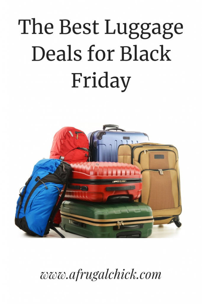 Luggage Deals Black Friday- Find the lowest price luggage deals for Black Friday. Combining them with store credit can really drop the price!