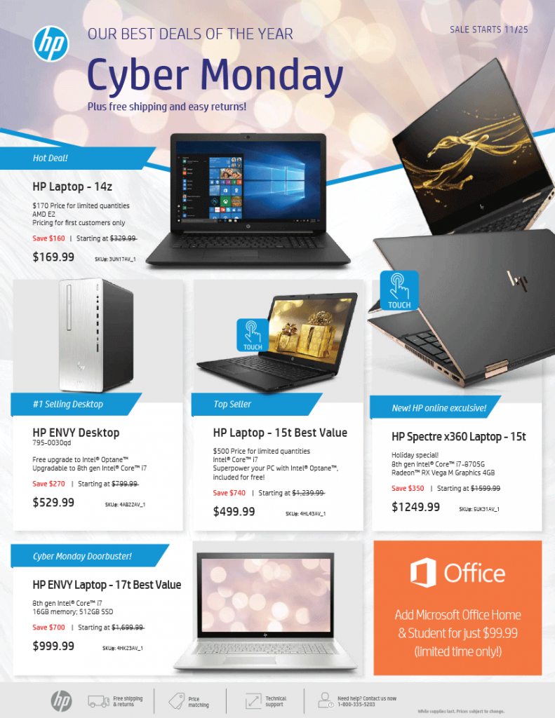 Hp S Cyber Monday Ad Is Here Full Ad Scan Available