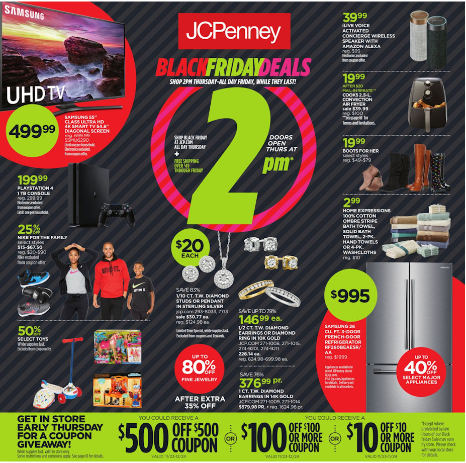 cabe26c10af2b Black Friday 2018  JcPenney Full Ad Scan