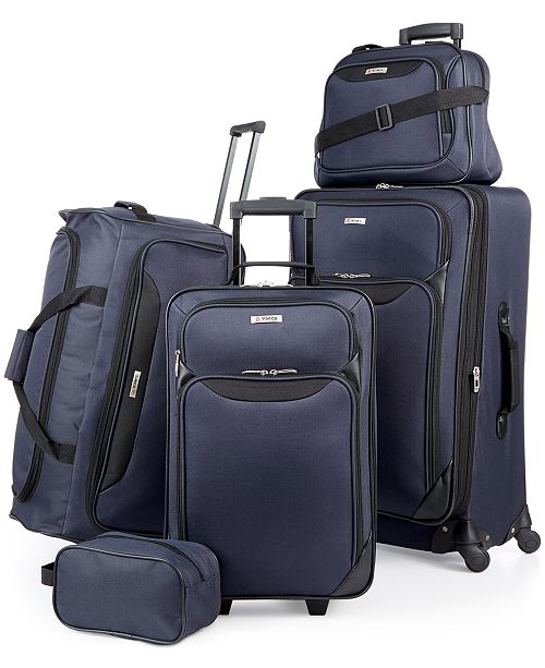 de3f24853703 Macy s Black Friday Now  5-Piece Luggage Sets Just  49.99 Shipped