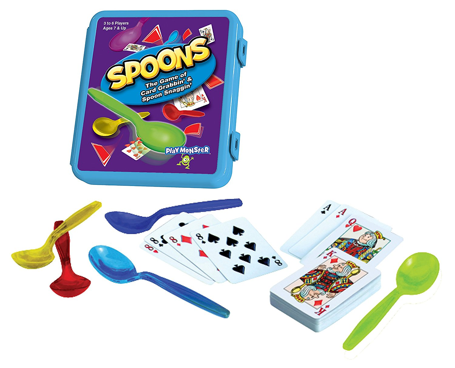 Amazon Lowest Price Spoons The Game Of Card Grabbin Spoon