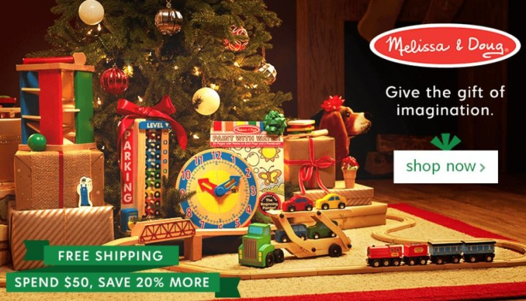 Meliss And Doug Christmas 2020 Zulily: Melissa & Doug Sale Up to 25% Off with FREE Shipping plus