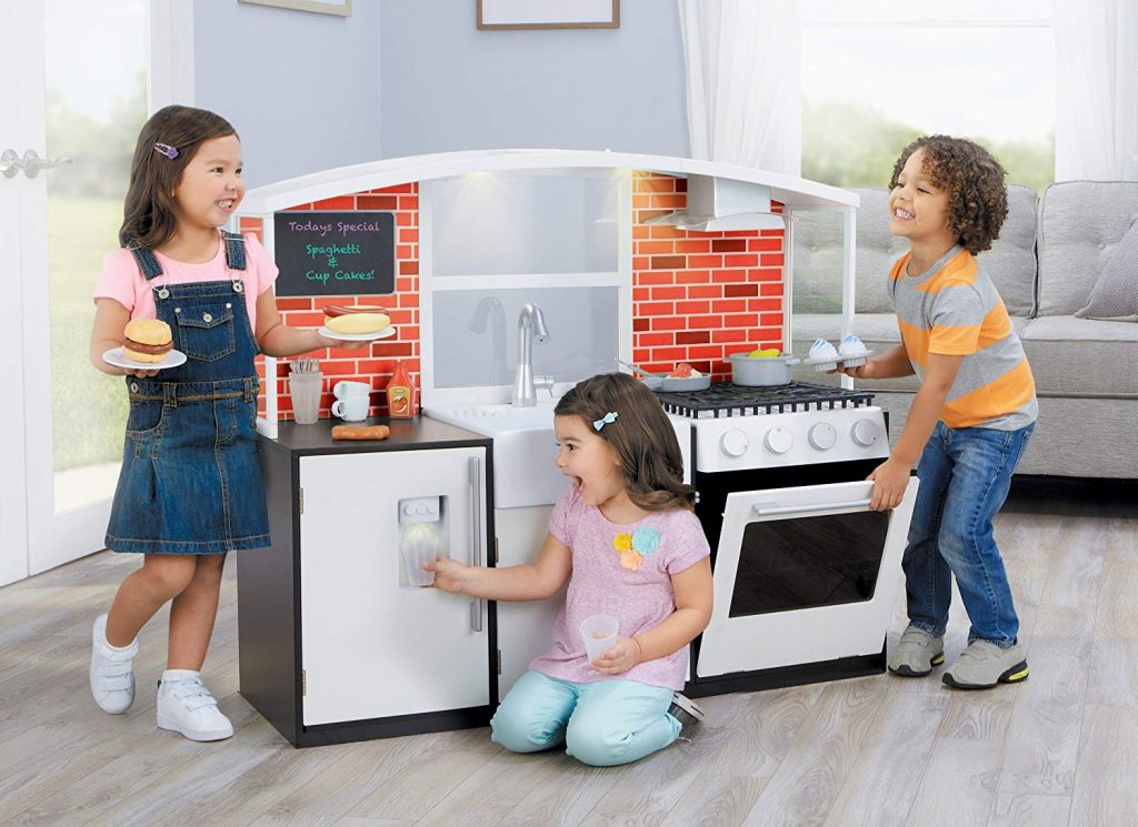 Amazon Almost Lowest Price Little Tikes Modern Wooden Kitchen With