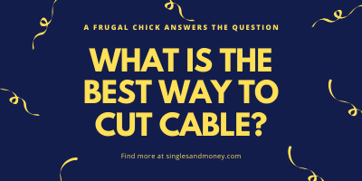 Best option if cutting cable