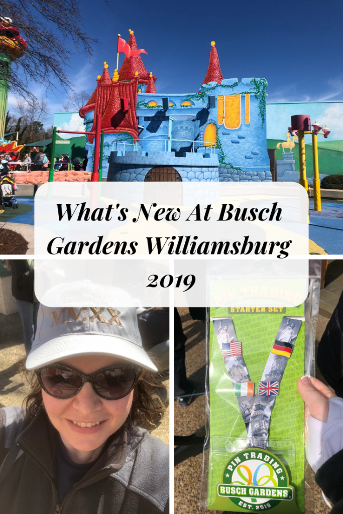 What's New At Busch Gardens Williamsburg 2019- New Food, New Rides, New Shows and Pin Trading! #afrugalchick #buschgardensva #travelva #vatourist #williamsburg