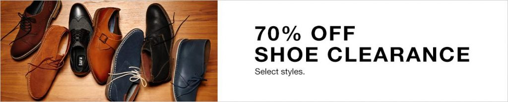 be6d8d0ece7a Macy s  Take up to 70% off Men s Shoes + Extra 30% off! Prices Start at Only   19.99!