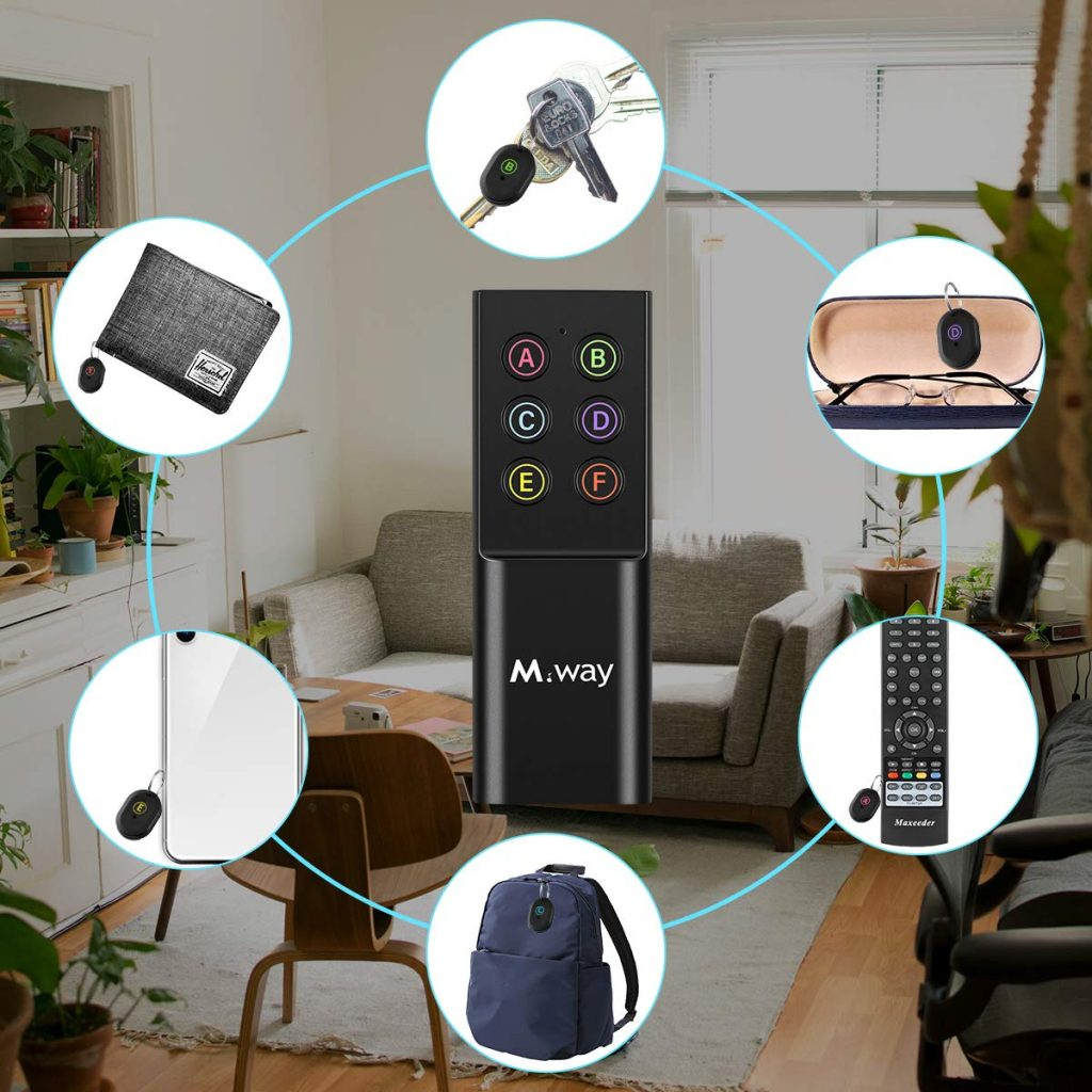 Amazon: Wireless Key/Item Tracker System $11 99 After Coupon
