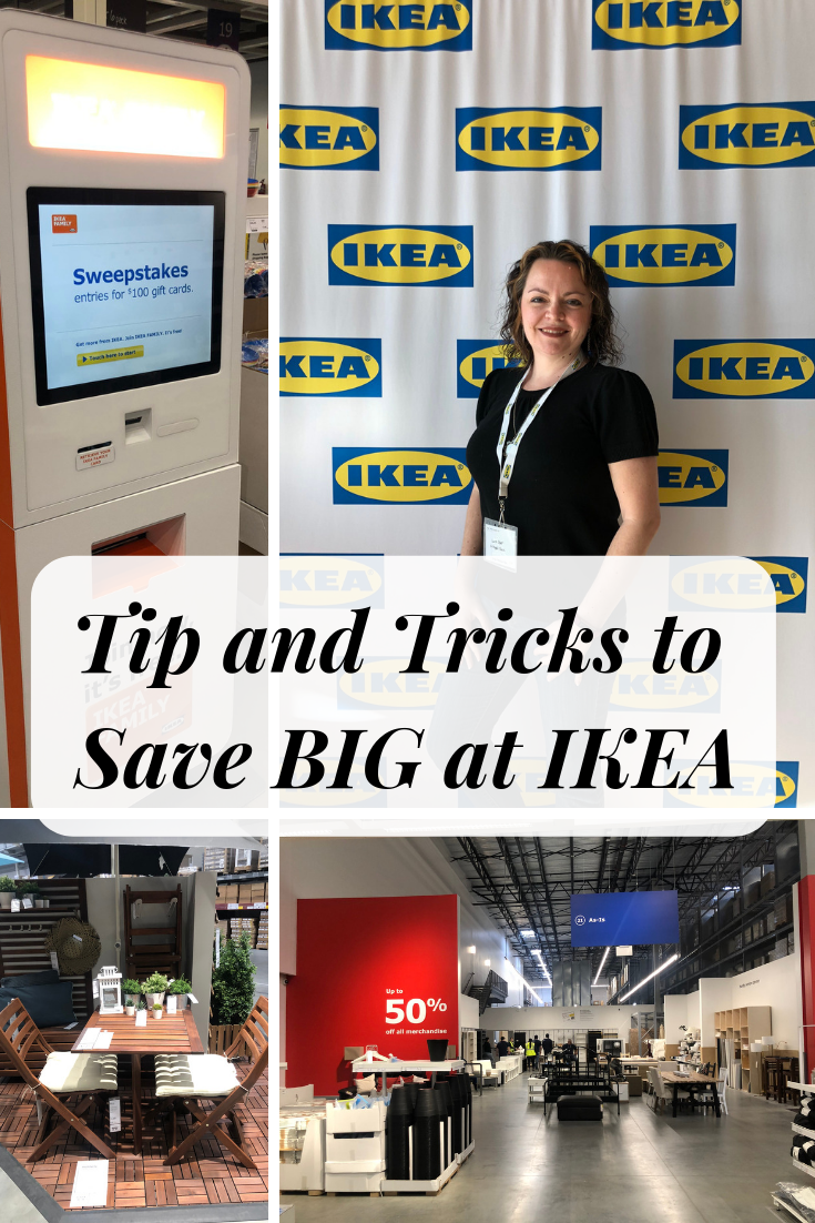 Tip and Tricks to Save BIG at IKEA- A few extra steps can help you REALLY walk out the door with some bargains at your local IKEA.