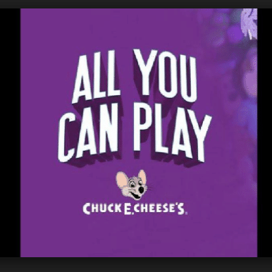 picture relating to Chuck E Cheese Coupon Printable named Chuck E. Cheese: 30-Min. of All Yourself Can Engage in w/ Any Foods