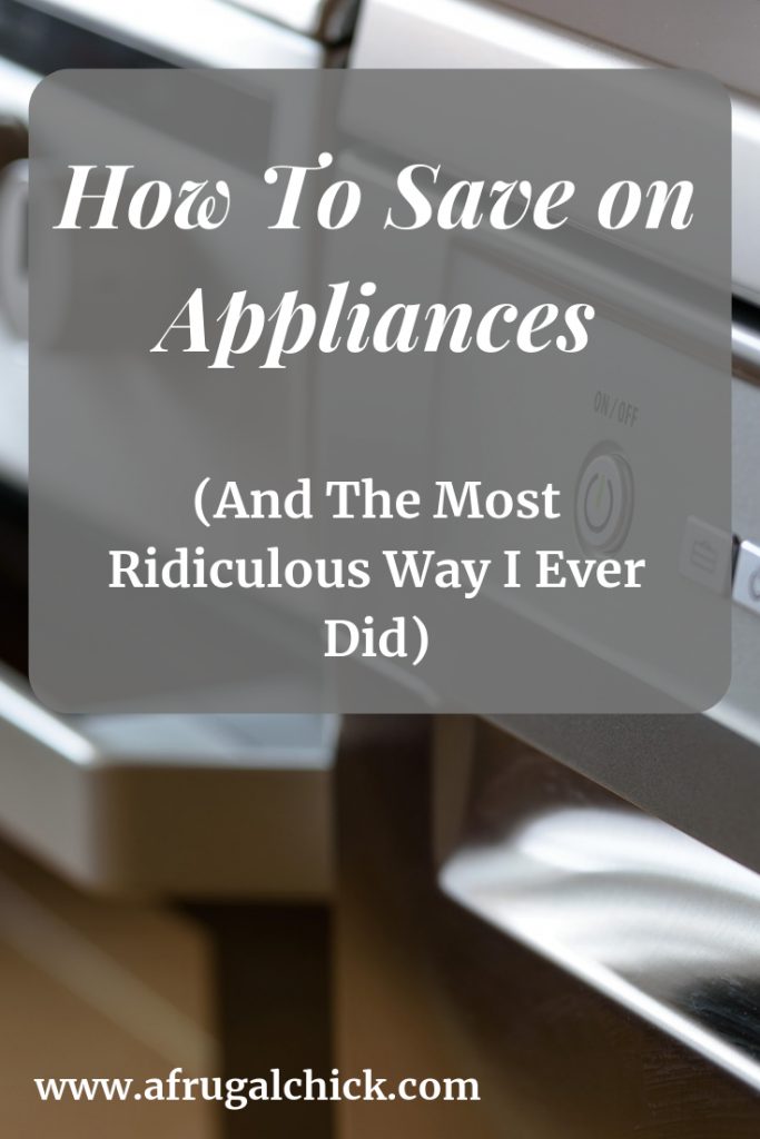 How To Save on Appliances- I ended this post with the biggest savings I ever helped someone achieve.  It involved some creativity, patience and alot of beer.