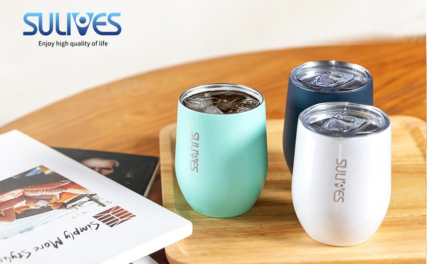 abee7870d75 Amazon: Stainless Steel 12 oz Double Wall Wine Tumblers (FANTASTIC PRICE)