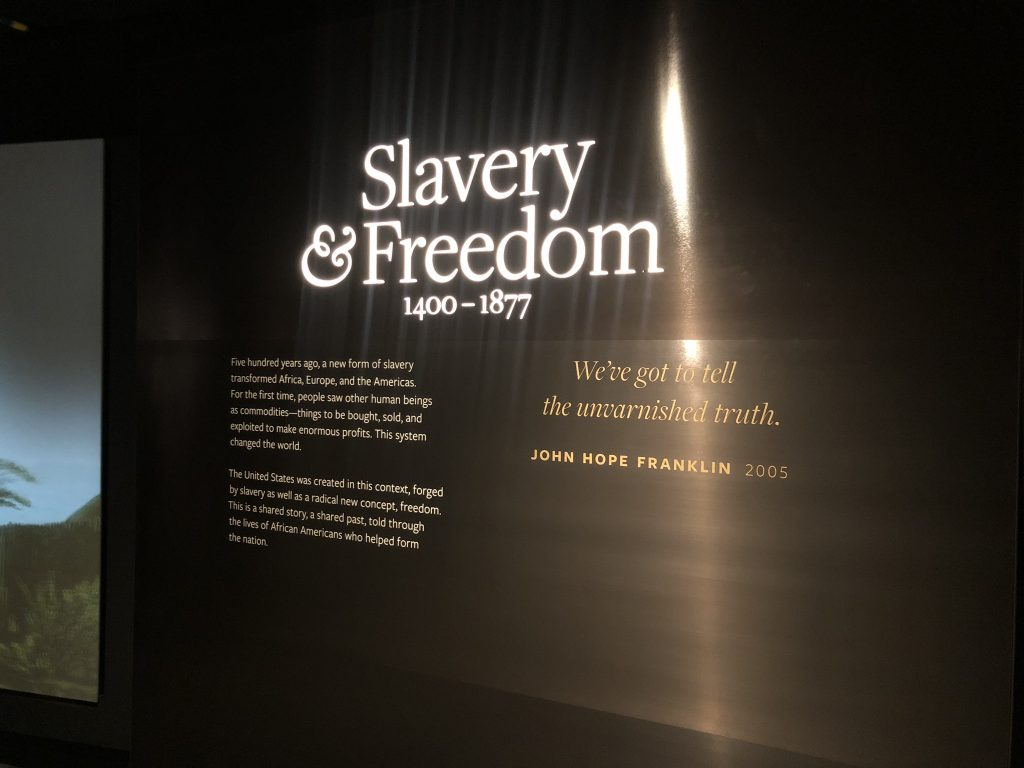 Visiting The National Museum of African American History and Culture