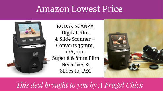 Amazon Lowest Price: KODAK SCANZA Digital Film & Slide