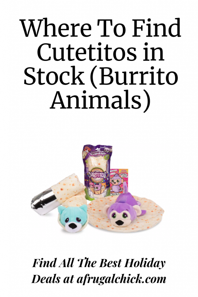Where To Find Cutetitos in Stock (Burrito Animals)- Cutetitos and Babitos (burrito animals) are must have gifts for the holidays. Find them in stock!