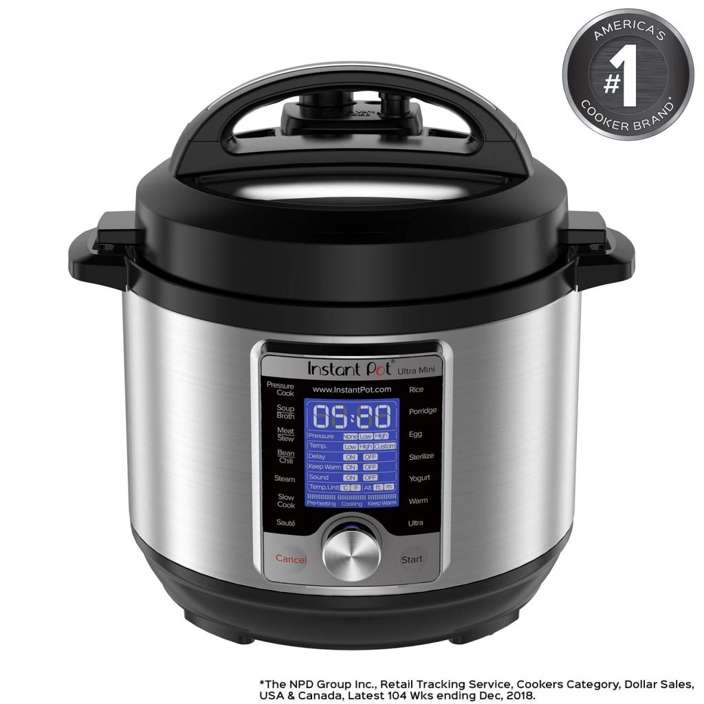 Amazon Black Friday Now Instant Pot Ultra 3 Qt 10 In 1