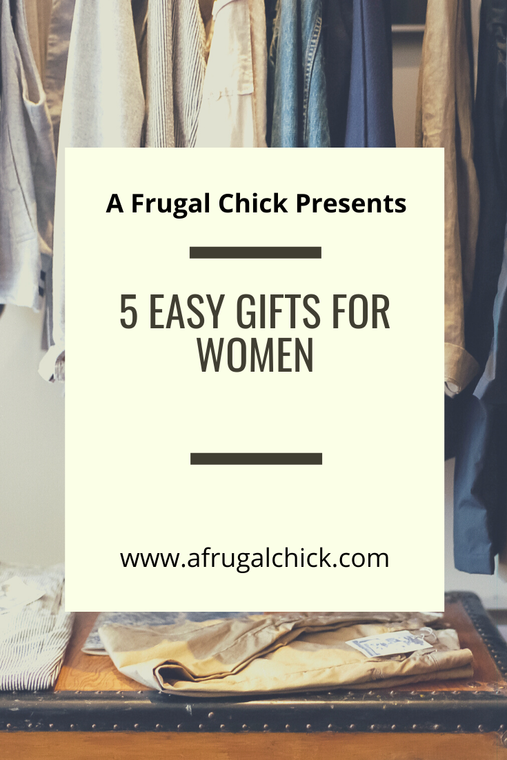Easy Gifts for Women- Perplexed what to buy the woman in your life? Check out these simple ideas to get the juices flowing and find the perfect gift!