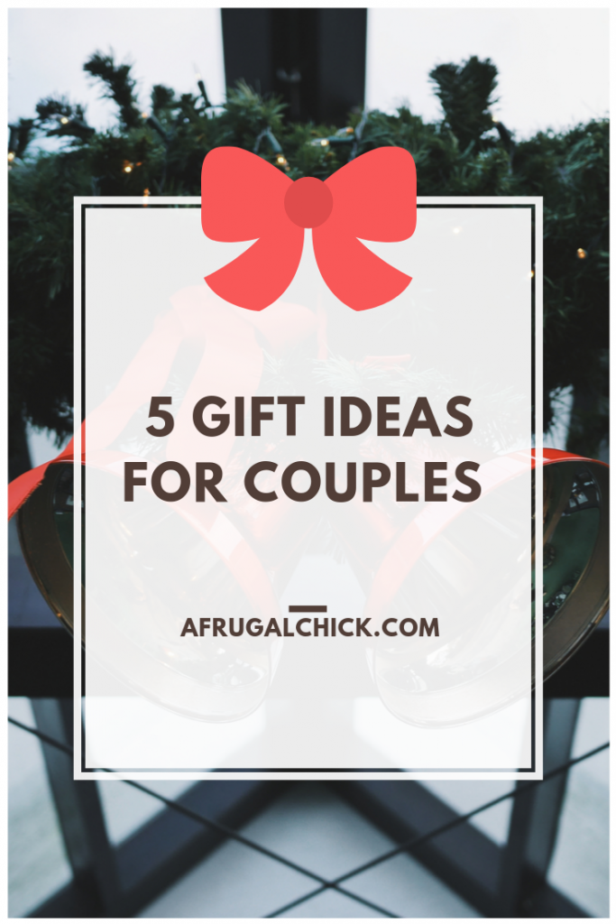 Gift Ideas for Couples- Finding gifts for couples can often be easier (and more frugal) than buying for individuals. Check out these ideas!