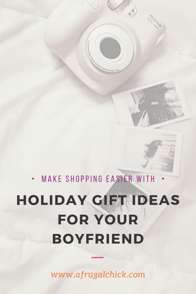 Holiday Gifts Ideas for Your Boyfriend