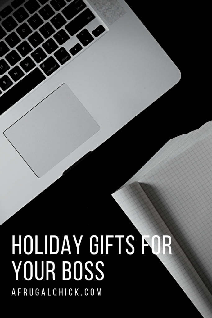 Holiday Gifts for Your Boss- If you've been given fantastic opportunities, or if you want to try for a promotion sometime in the future.