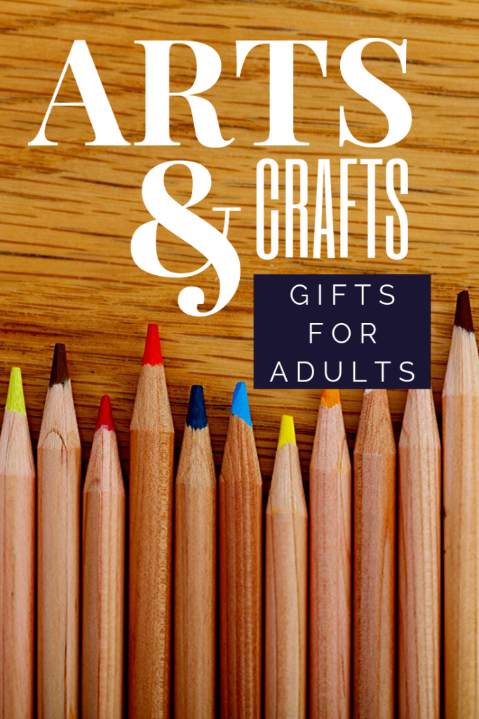 Arts and Crafts Gifts for Adults. Finding Arts and Crafts Gifts for Adults can be harder than grabbing supplies for a child in your life. So we made a list!