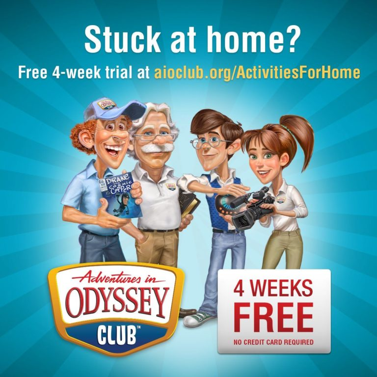 Adventures in Odyssey Is Giving Free Access to 900 Episodes!