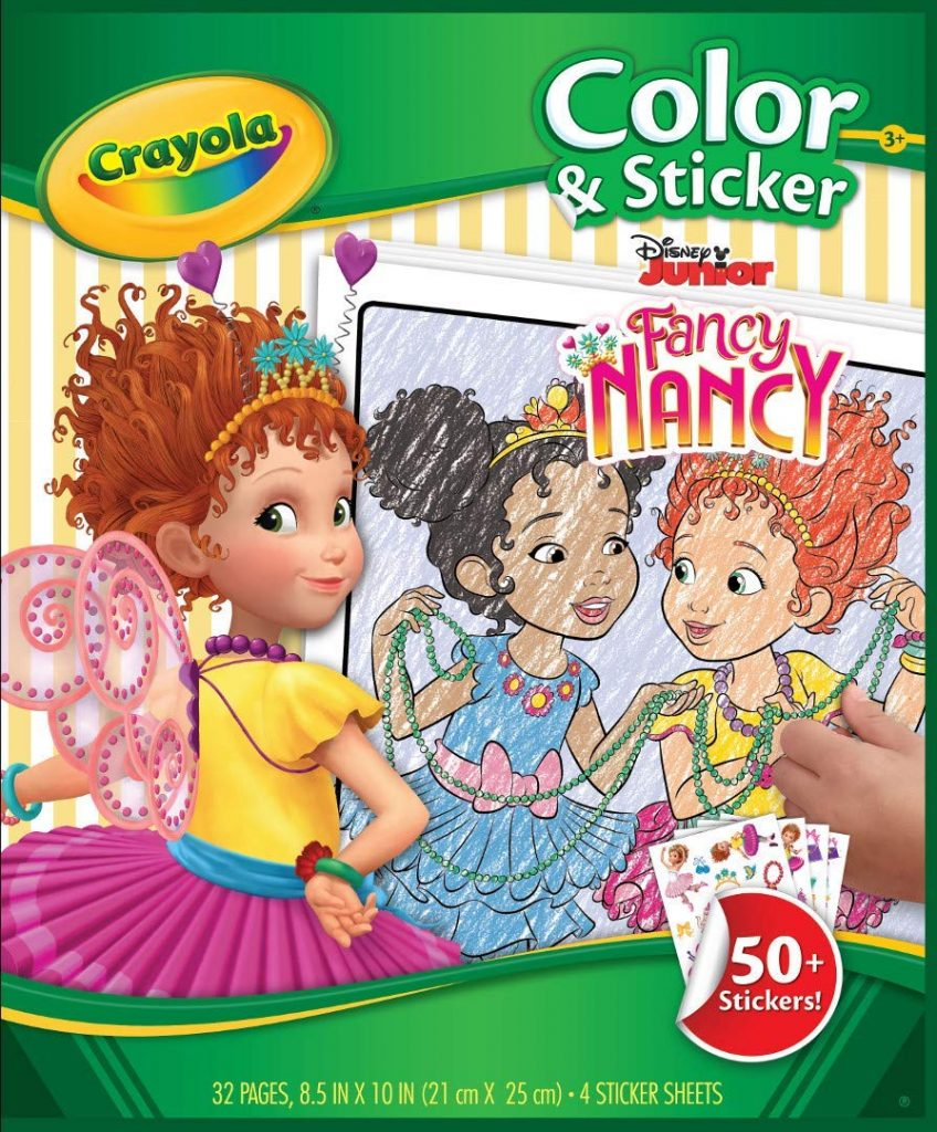 - Amazon Lowest Price: Crayola Fancy Nancy Coloring Pages & Sticker
