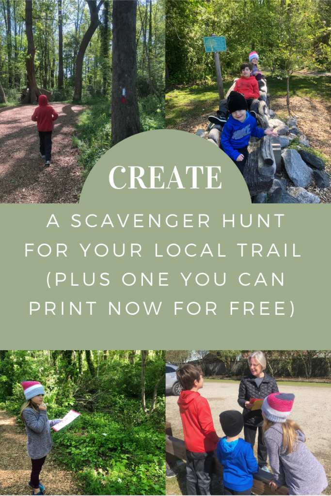 Create An Outdoor Scavenger Hunt
