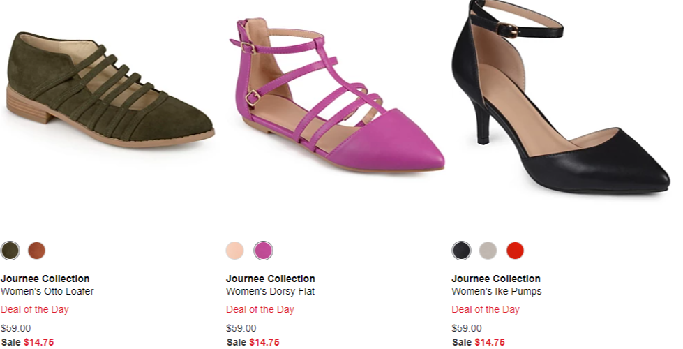 Macy's Flash Sale: 50% to 75% off Shoes
