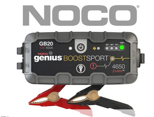 Boost Sport 12 Volt Ultra Safe Portable Lithium Car Battery Jump Starter Pack As Low As 59 99 Shipped