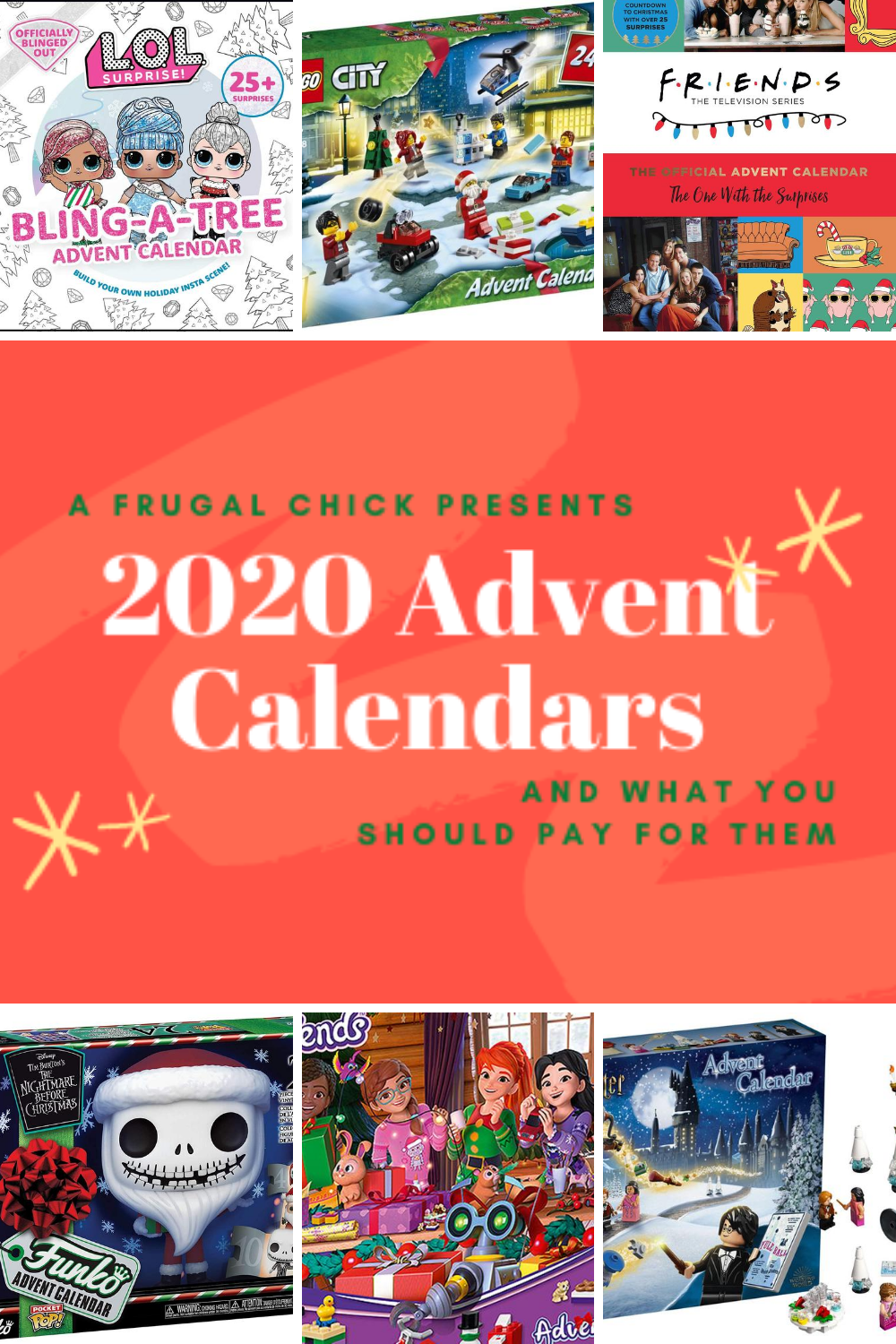 "The ""Christmas"" Calendar (AKA the Advent Calendar) and What You Should Pay For Them- Check out the Advent calendars for 2020 and what bargains are available"