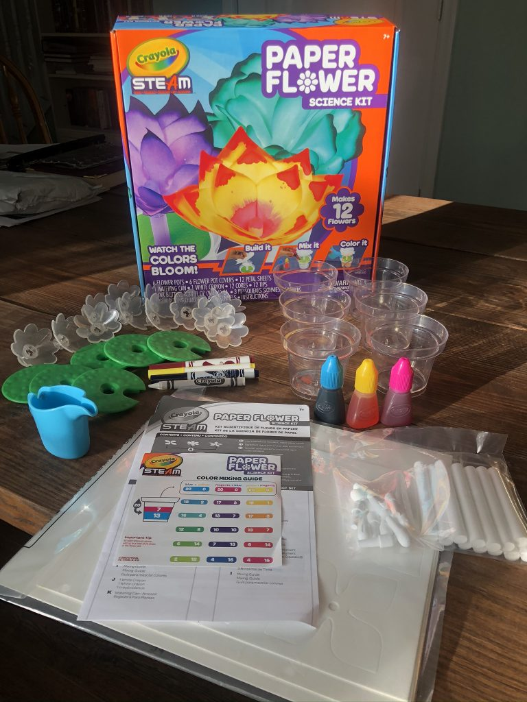 Crayola STEAM Paper Flower Science Kit Review