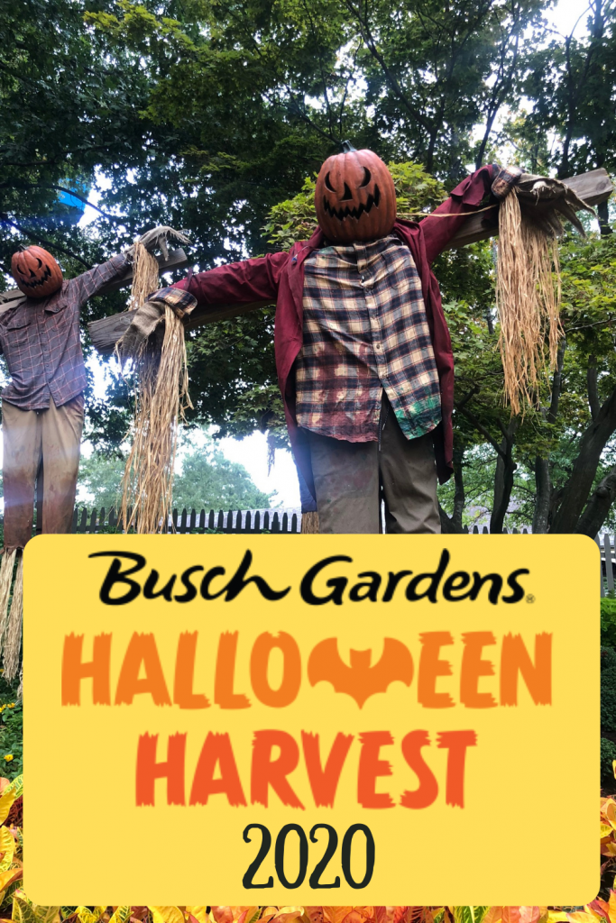 Busch Gardens Williamsburg Halloween 2020
