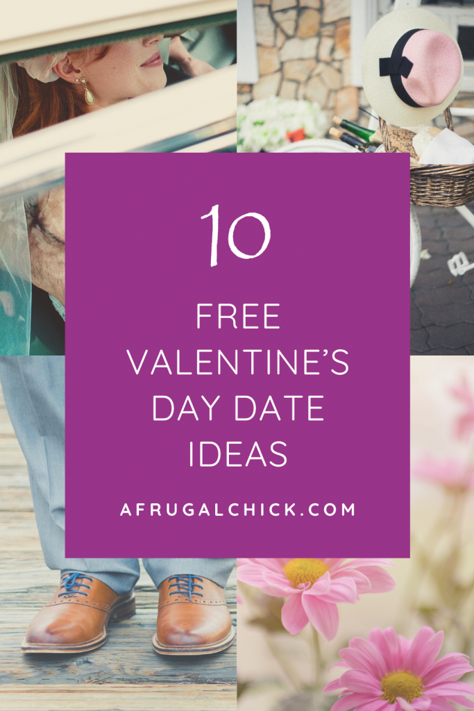 Free Valentine's Day Date Ideas- No need to spend a ton to have a romantic Valentine's Day- a free night can be fun too!