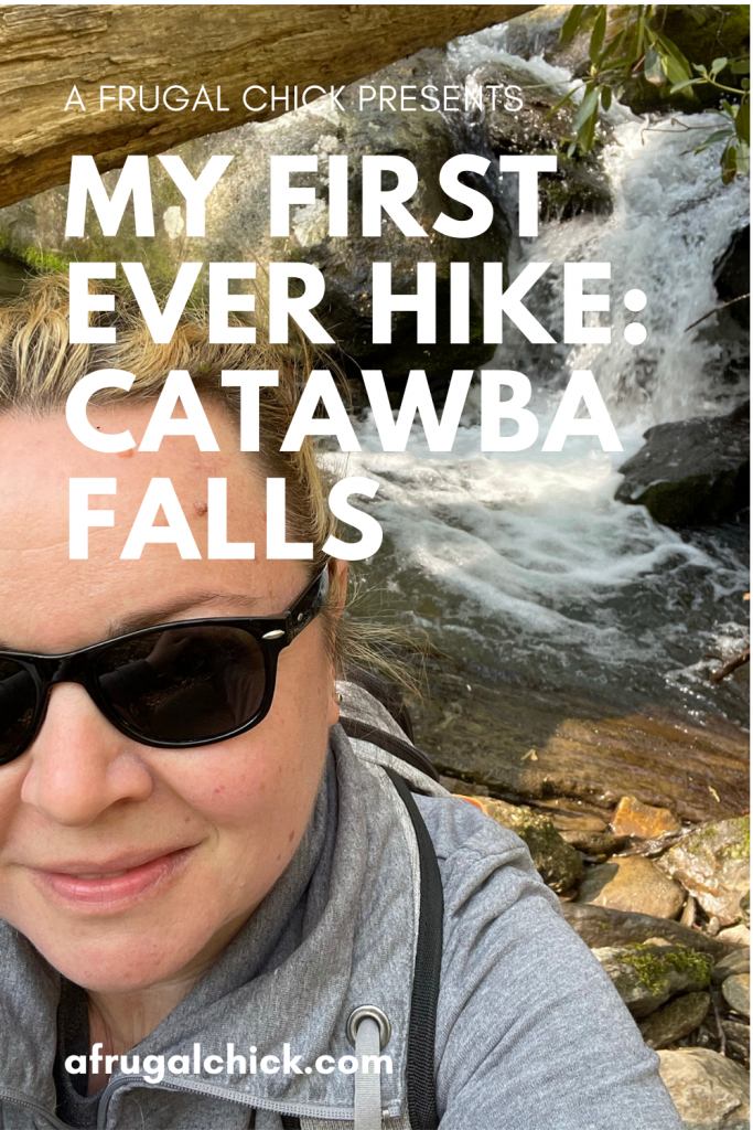 My First Ever Hike- At 42 I probably shouldn't be doing my first hike but Catabwa Falls, NC was a perfect first time!
