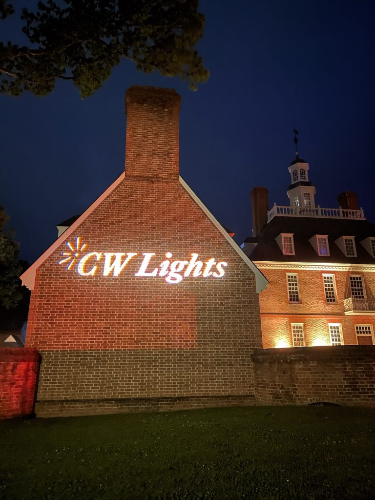 CW Lights at Colonial Williamsburg